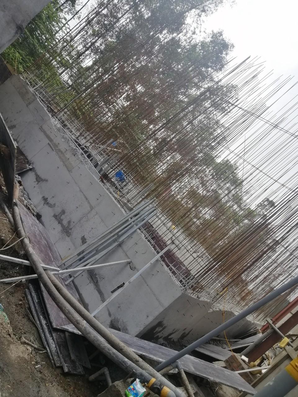 Thi công xây dựng cụm bể xử lý nước thải